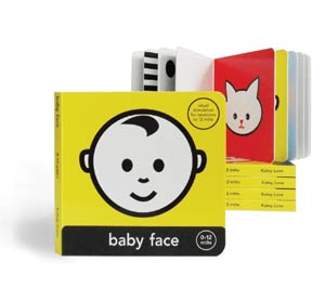 Baby face baby book of colours