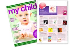 My Child magazine Mesmerised review