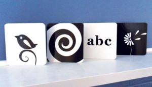 baby flashcards black and white