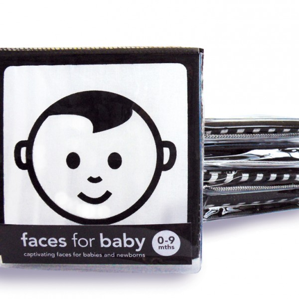 faces for baby cloth book
