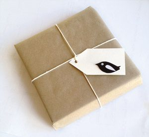 baby books gift wrapped