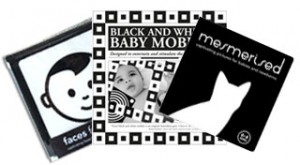 black and white baby gift pack