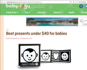 Babyology 'Best baby gifts under $40'
