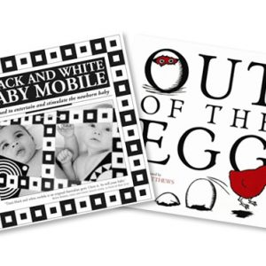 Baby book and mobile gift pack